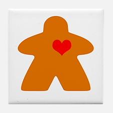 Cute Love games Tile Coaster