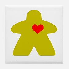 Cool Love games Tile Coaster
