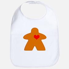I Heart Gaming Orange Bib