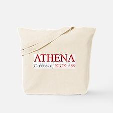 """""""Athena: Goddess of KICK ASS"""" Tote Bag"""