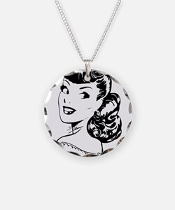 Vintage Girl Necklace