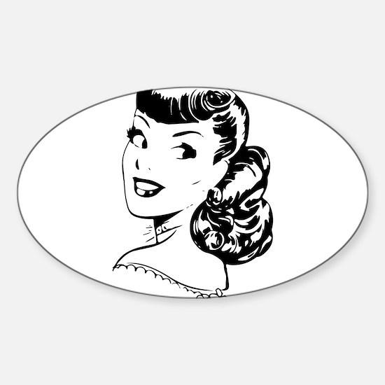 Vintage Girl Decal