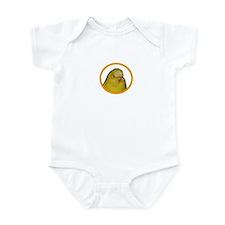 Unique Yellow budgie Infant Bodysuit