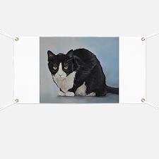 Unique Cat art Banner