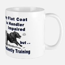 Flat Coat Agility Mug