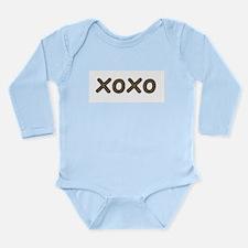Funny Xoxo Long Sleeve Infant Bodysuit