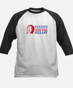 vote for hillary Baseball Jersey