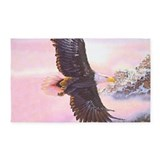 Eagle bird Area Rugs