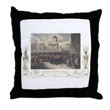 Grenadier Guards 1854 Throw Pillow
