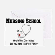 Unique Nursing school Greeting Card