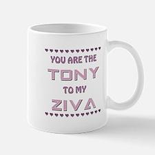 TONY to ZIVA Mug