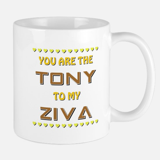 TONY to ZIVA Mug