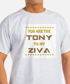 TONY to ZIVA T-Shirt
