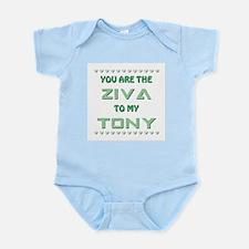 ZIVA to TONY Infant Bodysuit