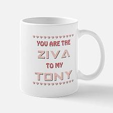 ZIVA to TONY Mug