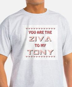 ZIVA to TONY T-Shirt