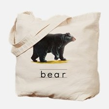 Unique Vintage bear Tote Bag