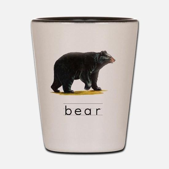 Unique Bears Shot Glass