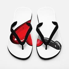 love sucks anti valentines day Flip Flops