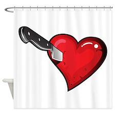 love sucks anti valentines day Shower Curtain