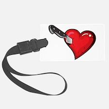 love sucks anti valentines day Luggage Tag