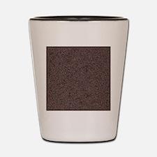 GRANITE RED-BROWN Shot Glass