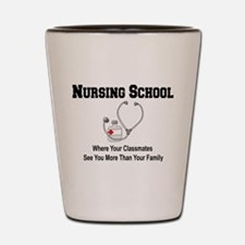 Nursing Schoool Shot Glass