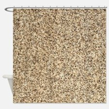 GRANITE BROWN 3 Shower Curtain