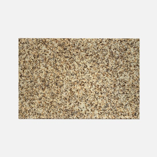 GRANITE BROWN 3 Rectangle Magnet