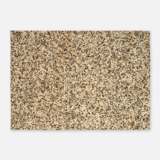 GRANITE BROWN 3 5'x7'Area Rug