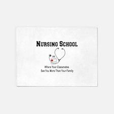 Nursing Schoool 5'x7'Area Rug