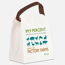 Veganism Canvas Lunch Bag