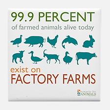 Cool Farms Tile Coaster
