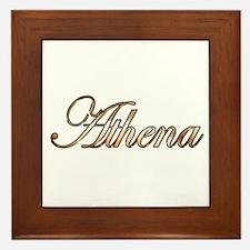 Unique Athena Framed Tile
