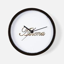 Unique Athena Wall Clock
