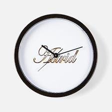 Unique Astrid Wall Clock