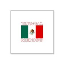 "Cute I love mexican girls Square Sticker 3"" x 3"""