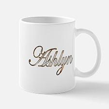 Gold Ashlyn Mugs