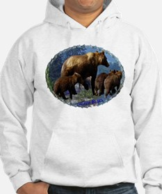 Mountain Grizzly Bears Hoodie