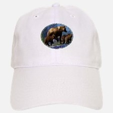 Mountain Grizzly Bears Baseball Baseball Cap