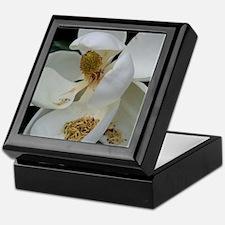 Funny Magnolia flowers Keepsake Box
