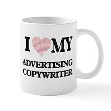 I love my Advertising Copywriter (Heart Made Mugs
