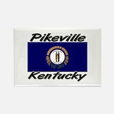 Pikeville Kentucky Rectangle Magnet
