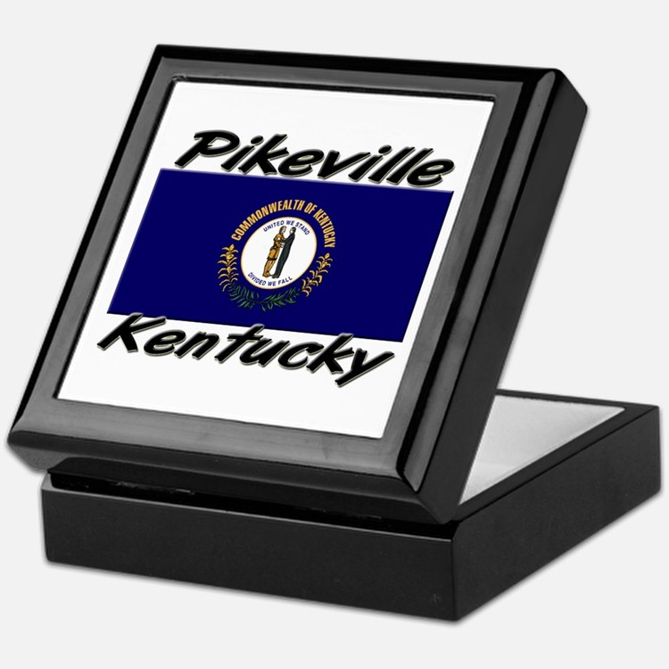 Pikeville Kentucky Keepsake Box