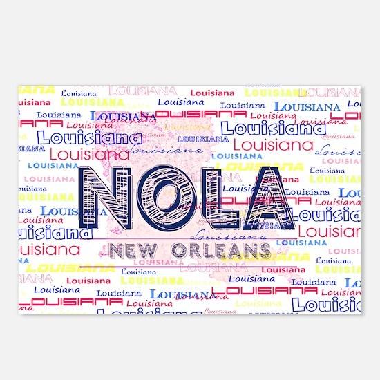 NOLA PINK Postcards (Package of 8)