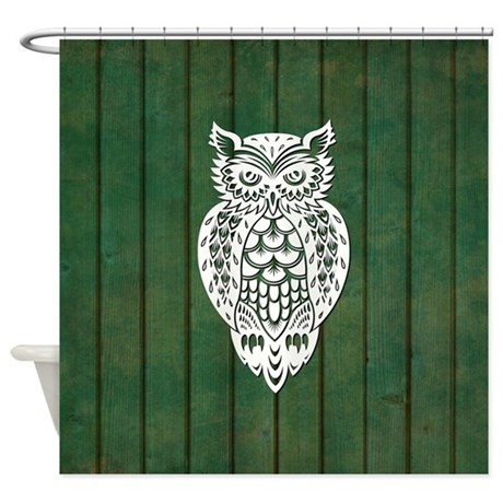 Owl Shower Curtain By Kidsroomdecor