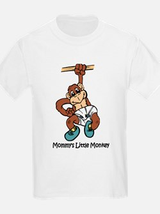 Mommy's Little Monkey T-Shirt