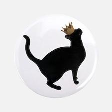 Cat Crown Button