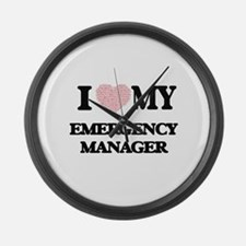 I love my Emergency Manager (Hear Large Wall Clock