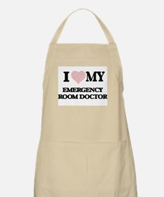 I love my Emergency Room Doctor (Heart Made Apron